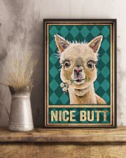Llama Nice Butt 11x17 Poster lifestyle-poster-3