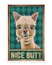 Llama Nice Butt Sticker tile