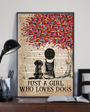 Dog Just A Girl Who Loves Dog  11x17 Poster lifestyle-poster-2