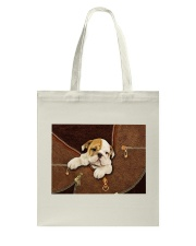 English Bull Dog Zip Tote Bag thumbnail