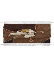 English Bull Dog Zip Cloth face mask thumbnail