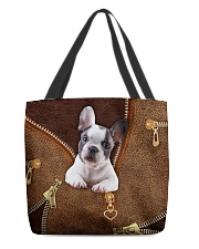 French Bulldog All-over Tote back