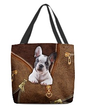 French Bulldog All-over Tote front