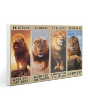 Lion - Be Strong Gallery Wrapped Canvas Prints tile