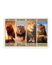 Lion - Be Strong Sticker tile