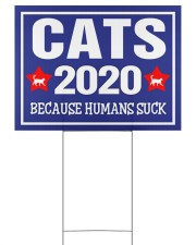 Cats 2020 24x18 Yard Sign back