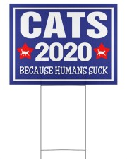Cats 2020 24x18 Yard Sign front