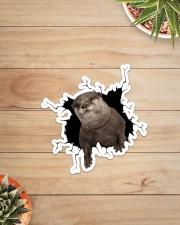 Otter Crack Sticker - Single (Vertical) aos-sticker-single-vertical-lifestyle-front-07