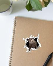 Otter Crack Sticker - Single (Vertical) aos-sticker-single-vertical-lifestyle-front-16