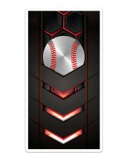 Baseball Carbon 3D Sticker - Single (Vertical) thumbnail