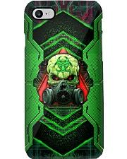Skull Green Biohazard Iron Phone Case Phone Case i-phone-8-case