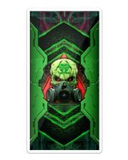 Skull Green Biohazard Iron Phone Case Sticker tile