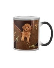 Poodle  Color Changing Mug tile