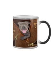 Pitbull  Color Changing Mug tile