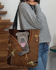 Pitbull  All-over Tote aos-all-over-tote-lifestyle-front-09