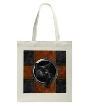Black Cat Lover Tote Bag thumbnail