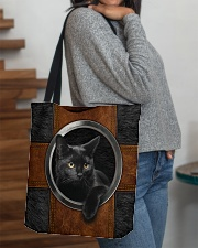 Black Cat Lover All-over Tote aos-all-over-tote-lifestyle-front-09