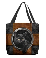Black Cat Lover All-over Tote back