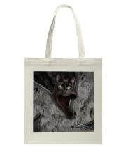 Black Cat Beauty Tote Bag thumbnail