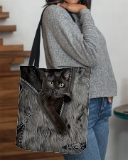 Black Cat Beauty All-over Tote aos-all-over-tote-lifestyle-front-09