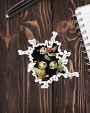 Turtle Crack Hole Sticker - Single (Vertical) aos-sticker-single-vertical-lifestyle-front-05