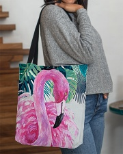 Flamingo Tropical All-over Tote aos-all-over-tote-lifestyle-front-09