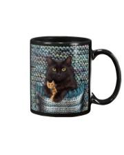 Cute Black Cat Mug thumbnail