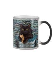 Cute Black Cat Color Changing Mug thumbnail
