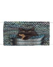 Cute Black Cat Cloth face mask thumbnail