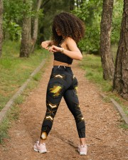 Softball Carbon Crack Leggings High Waist Leggings aos-high-waist-leggings-lifestyle-17