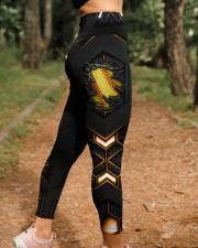 Softball Carbon Crack Leggings High Waist Leggings aos-high-waist-leggings-lifestyle-21