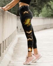 Softball Carbon Crack Leggings High Waist Leggings aos-high-waist-leggings-lifestyle-23
