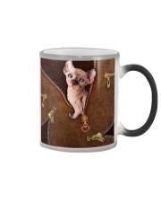 Sphynx Cat  Color Changing Mug tile