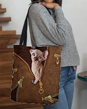 Sphynx Cat  All-over Tote aos-all-over-tote-lifestyle-front-09