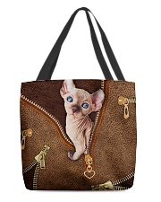 Sphynx Cat  All-over Tote front