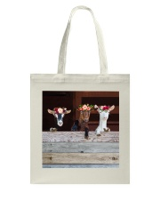 Wood Goats Awesome Tote Bag thumbnail