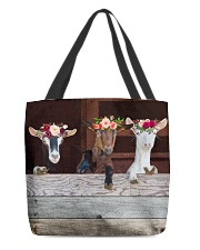 Wood Goats Awesome All-over Tote front