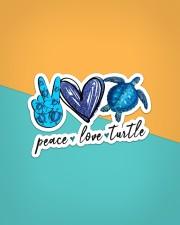 Peace Love Turtle Sticker - Single (Vertical) aos-sticker-single-vertical-lifestyle-front-02