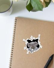 Koala Crack Sticker - Single (Vertical) aos-sticker-single-vertical-lifestyle-front-16