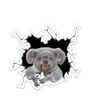 Koala Crack Sticker - Single (Vertical) front