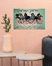 Horse God Says You  17x11 Poster poster-landscape-17x11-lifestyle-21