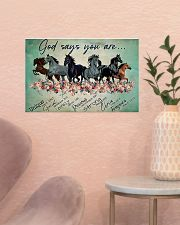 Horse God Says You  17x11 Poster poster-landscape-17x11-lifestyle-22