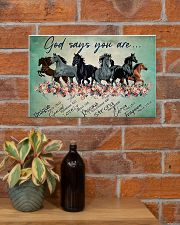 Horse God Says You  17x11 Poster poster-landscape-17x11-lifestyle-23