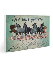 Horse God Says You  30x20 Gallery Wrapped Canvas Prints thumbnail