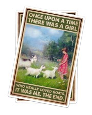 Goats - Once Upon A Time Sticker - 2 pack (Vertical) thumbnail