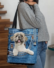 Shih Tzu All-over Tote All-over Tote aos-all-over-tote-lifestyle-front-09