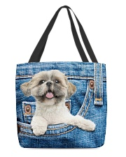 Shih Tzu All-over Tote All-over Tote back