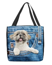 Shih Tzu All-over Tote All-over Tote front