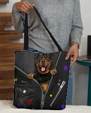 Rottie - Zip - All Tote All-over Tote aos-all-over-tote-lifestyle-front-10