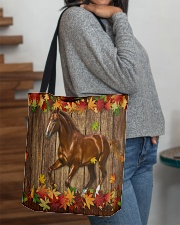 Horse Fall Leave All-over Tote aos-all-over-tote-lifestyle-front-09